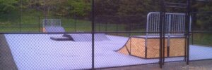 Post Tension Skate Park